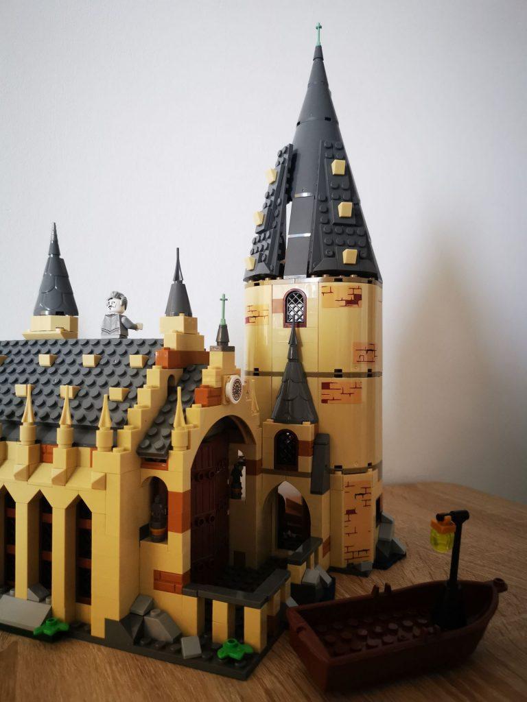 harry potter lego z chin przod wielkiej sali