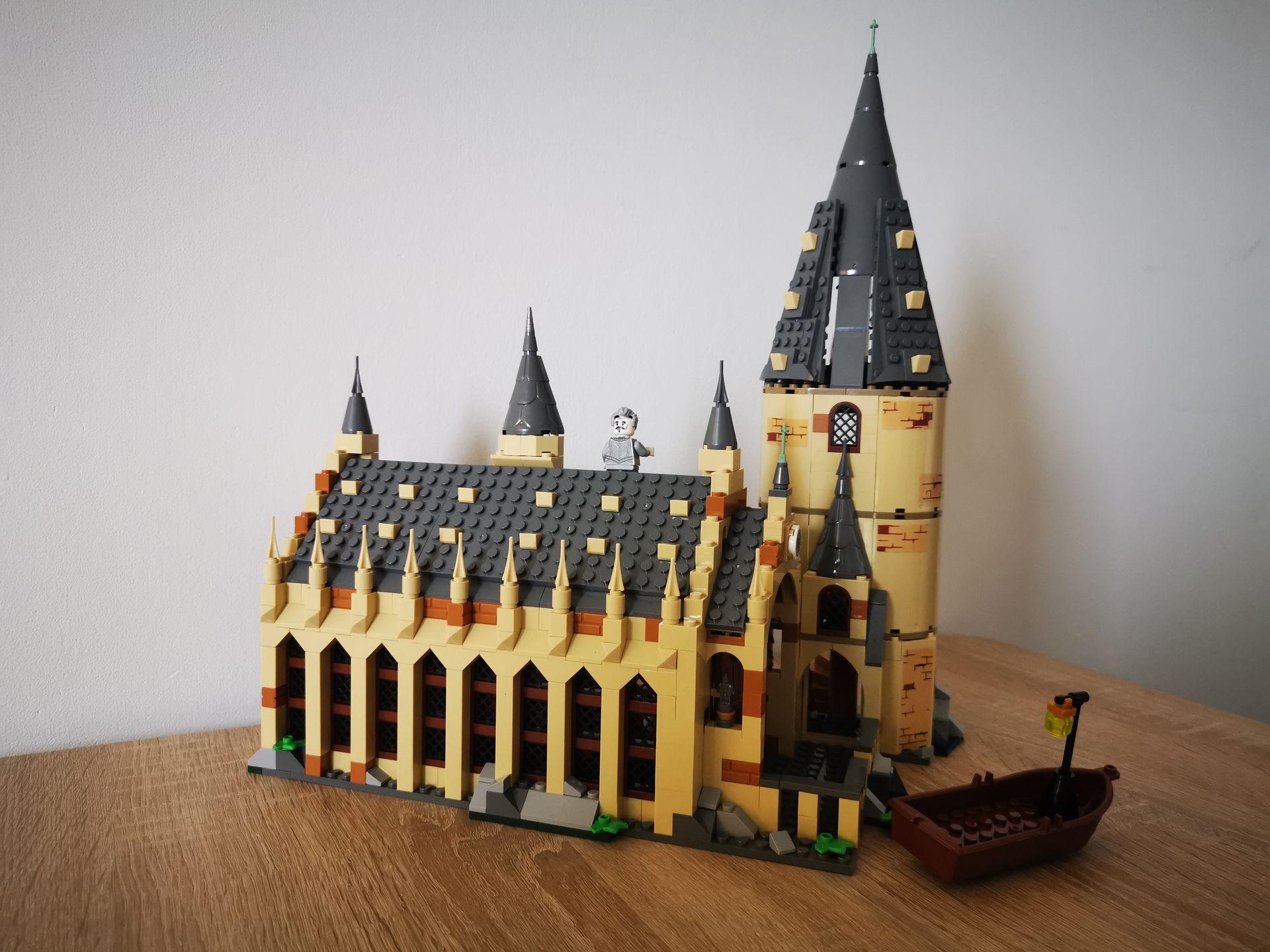 harry potter wielka sala lego z chin