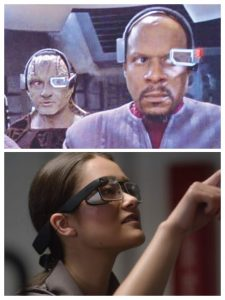 technologia przyszłości - star trek i google glass